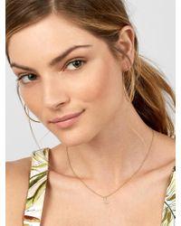 BaubleBar - Multicolor Precious Alpha Pendant Necklace - Lyst