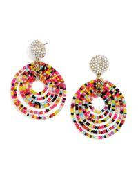 BaubleBar - Multicolor Clover Drops-multi - Lyst