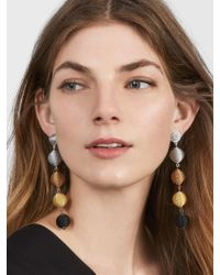 BaubleBar - Multicolor Mely Ball Drop Earrings - Lyst