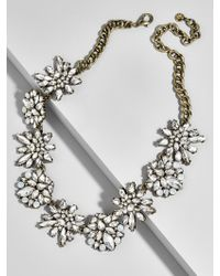 BaubleBar - Metallic Viviana Statement Necklace - Lyst