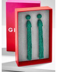 BaubleBar - Multicolor Bella Tassel Earring Gift Set-emerald - Lyst