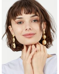 BaubleBar - Metallic Fiona Drop Earrings - Lyst