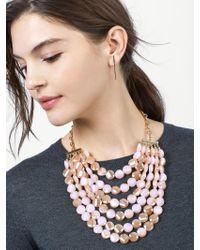 BaubleBar - Multicolor Noel Statement Necklace - Lyst