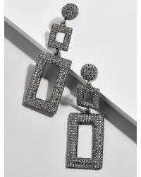 BaubleBar - Gray Davalyn Drop Earrings - Lyst