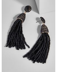 BaubleBar - Black Piñata Tassel Drops - Lyst