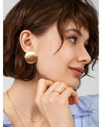 BaubleBar - Metallic Sedona Stud Earrings - Lyst