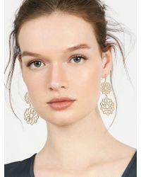 BaubleBar - Metallic Florentine Drop Earrings - Lyst