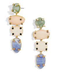BaubleBar - Multicolor Devina Semi-precious Drop Earrings - Lyst