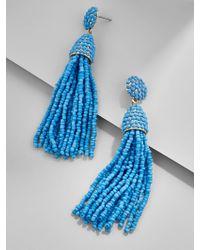 BaubleBar - Blue Piñata Tassel Earrings - Lyst