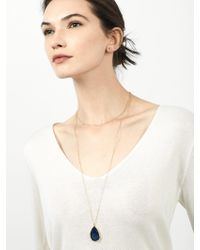 BaubleBar - Multicolor Merab Druzy Necklace + Face Mask - Lyst