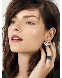 BaubleBar - Metallic Mariposa Ear Jackets - Lyst