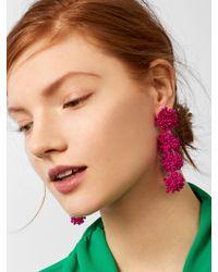BaubleBar - Black Ria Drop Earrings - Lyst