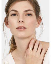 BaubleBar - White Remia Semi-precious Ring - Lyst
