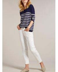 Baukjen Blue Nadia Striped Jumper
