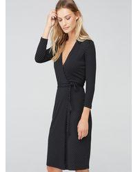 Baukjen   Black Marisol Wrap Dress   Lyst
