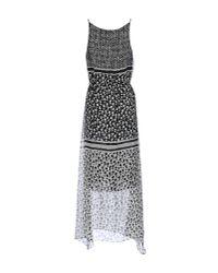 Max Mara - Black Long Dress - Lyst