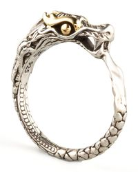 John Hardy | Metallic Slim Dragon Ring | Lyst