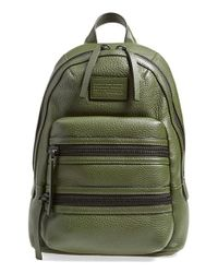Marc By Marc Jacobs | Green 'domo Biker' Leather Backpack | Lyst