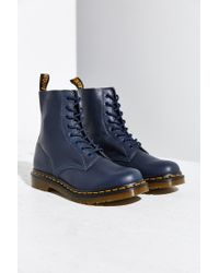 Dr. Martens - Blue Pascal 8-eye Boot - Lyst