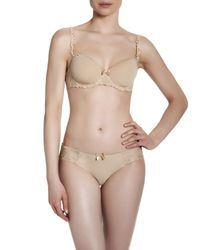 Simone Perele - Black Andora Cotton-blend Bikini Briefs - Lyst