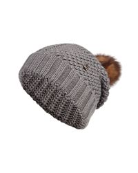Woolrich - Gray Wool Serenity Hat for Men - Lyst