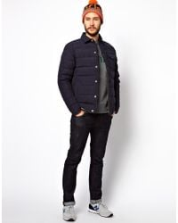 Penfield - Blue Eska Shirt Jacket with Down Fill for Men - Lyst