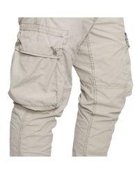 Polo Ralph Lauren - Gray Straight Poplin Cargo Jogger for Men - Lyst