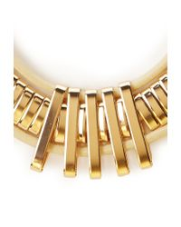 Forever 21 - Metallic Coated Collar Necklace - Lyst