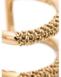Chloé | Metallic Double Ring | Lyst