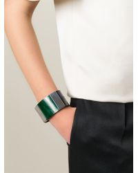Marni - Green Horn Cuff - Lyst