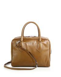 Prada - Natural Medium Soft Calf Inside Bag - Lyst