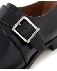 Stemar | Black Lucca Monk Strap Shoes for Men | Lyst