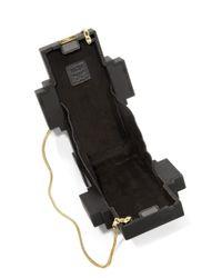 MCM - Black Roboter Acrylic Clutch - Lyst