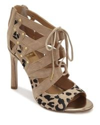 Dolce Vita | Brown Safia Suede Strappy Sandals | Lyst