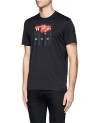 Givenchy - Black Scoreboard Print T-shirt for Men - Lyst