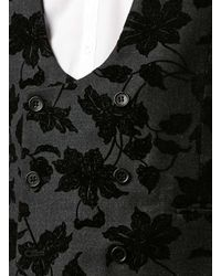 TOPMAN | Gray Noose And Monkey Grey Tuxedo Vest for Men | Lyst