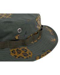 BBCICECREAM - Green Camo Boonie Hat - Olive for Men - Lyst