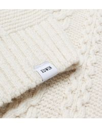 Edwin - United Jumper Natural Men's Sweater In Beige for Men - Lyst