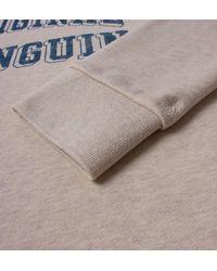 Original Penguin - Gray Mirage Grey Printed Crew Neck Sweatshirt for Men - Lyst