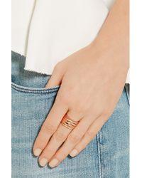 Repossi - Pink Antifer 18-karat Rose Gold Ring - Lyst