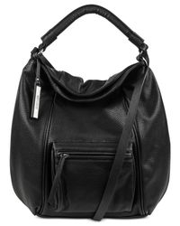 Kenneth Cole Reaction | Black Pide Piper Hobo | Lyst
