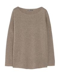 Vince | Natural Wool and Cashmere Blend Sweater | Lyst