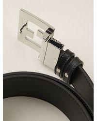 Fendi | Black 'college' Belt for Men | Lyst