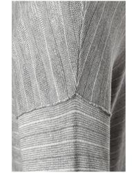 BOSS Orange - Gray Knit Sweater In Cotton Blend: 'katoun' for Men - Lyst