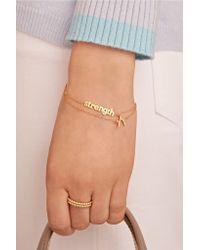 Jennifer Meyer - Metallic Strength 18-karat Gold Bracelet - Lyst
