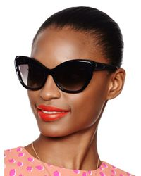 kate spade new york - Black Odelia Sunglasses - Lyst