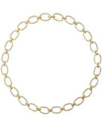 Irene Neuwirth | Metallic Oval-link Necklace | Lyst