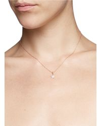 Khai Khai - Metallic 'star' Diamond Pendant Necklace - Lyst