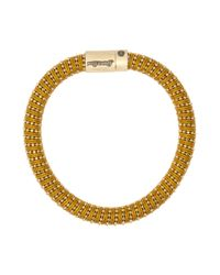Carolina Bucci | Metallic Yellow Gold Twister Bracelet | Lyst