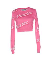 Moschino Couture | Purple Jumper | Lyst